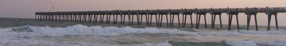 Pier, Gulf Coast of Florida